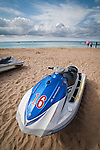 Jetski for rent on Nanwan Beach, Kenting, Pingtung County, Taiwan