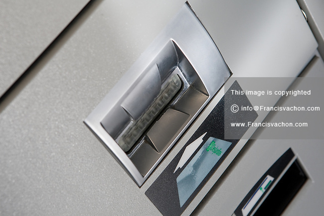 A Desjardins financial group ATM in Quebec city March 12, 2009