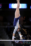 21 APR 2012:  Monique De La Torre of UCLA performs on the uneven bars during the Division I Women's Gymnastics Championship held at the Gwinnett Center Arena in Duluth, GA. Joshua Duplechian/NCAA Photos