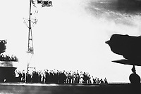 Captured Japanese photograph taken aboard a Japanese carrier before the attack on Pearl Harbor, December 7, 1941.  (Navy)<br /> NARA FILE #:  080-G-30549<br /> WAR &amp; CONFLICT BOOK #:  1132