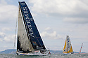 3rd August 2010 . Cowes. Isle of Wight. Artemis Challenge..Pictures of the Artemis Ocean Racing Team, Helmsman Simon Hiscocks (GBR)..Mandatory credit: Lloyd Images