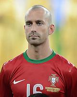 FUSSBALL  EUROPAMEISTERSCHAFT 2012   VORRUNDE Deutschland - Portugal          09.06.2012 Raul Meireles (Portugal)