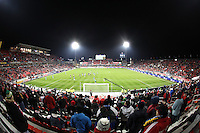 A sparsely full BMO Field during the second half of play of the 2010 MLS Cup. The Colorado Rapids defeated FC Dallas 2-1 to earn their first league title.