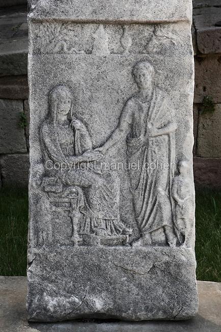 Grave stele, Pergamon, Bergama, Izmir, Turkey  Manuel Cohen