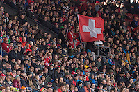 Zürich, Switzerland - Tuesday, March 31, 2015: The USMNT and Switzerland played to 1-1 draw in an international friendly at Stadion Letzigrund.