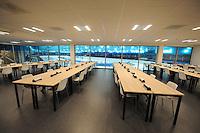 Thialf Sneak Preview  031116<br /> perszaal<br /> &copy;foto Martin de Jong SCHAATSEN: HEERENVEEN: 03-11-2016, IJsstadion Thialf, Sneak Preview pers, &copy;foto Martin de Jong