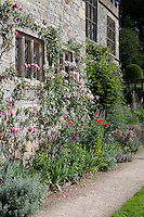 Summer border on The Fountain Terrace at Haddon Hall