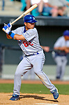 11 March 2006: Chin-lung Hu, infielder for the Los Angeles Dodgers, at bat during a Spring Training game against the Washington Nationals. The Nationals defeated the Dodgers 2-1 in 10 innings at Space Coast Stadium, in Viera, Florida...Mandatory Photo Credit: Ed Wolfstein.