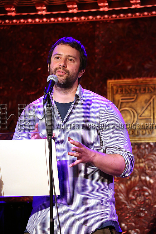 Itamar Moses  attends 2017 New York Drama Critics' Circle Awards Reception at Feinstein's/54 Below on May 18, 2017 in New York City.