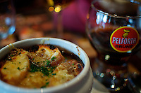 lunch french onion soup