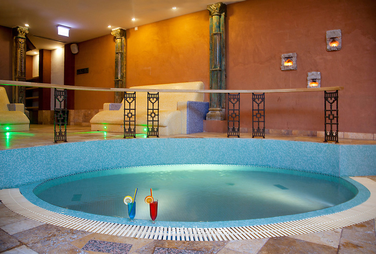 Lighted swimming pool and thermal bath in viimsi spa hotel - Hotels in bath with swimming pool ...