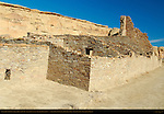 South Wall, Pueblo Bonito Chacoan Great House, Anasazi Hisatsinom Ancestral Pueblo Site, Chaco Culture National Historical Park, Chaco Canyon, Nageezi, New Mexico