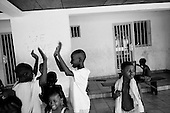 Conakry, Guinea<br /> April 2001<br /> <br /> The separation children's center in Conakry run by the ICR/UAM. The children have been separated from their families due to the war in Sierra Leone or Liberia.
