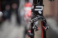 rim brakes on the Lotto-Soudal Ridley's<br /> <br /> GP Le Samyn 2017 (1.1)