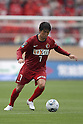 Toru Araiba, (Antlers), April 23rd, 2011 - Football : 2011 J.LEAGUE Division 1, 7th Sec match between Kashima Antlers 0-3 Yokohama Marinos at National Stadium, Tokyo, Japan. The J.League resumed on Saturday 23rd April after a six week enforced break following the March 11th Tohoku Earthquake and Tsunami. All games kicked off in the daytime in order to save electricity and title favourites Kashima Antlers are still unable to use their home stadium which was damaged by the quake. Velgata Sendai, from Miyagi, which was hard hit by the tsunami came from behind for an emotional 2-1 victory away to Kawasaki. (Photo by Akihiro Sugimoto/AFLO SPORT) [1080].