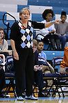 13 November 2015: UNC head coach Sylvia Hatchell. The University of North Carolina Tar Heels hosted the Gardner-Webb University Runnin' Bulldogs at Carmichael Arena in Chapel Hill, North Carolina in a 2015-16 NCAA Division I Women's Basketball game. Gardner-Webb won the game 66-65.
