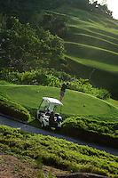 Golfer at Lemuria resort