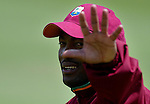JAMES BOARDMAN / 07967642437 - 01444 412089 .Brian Lara training at Hove with fellow West Indies players. .. .