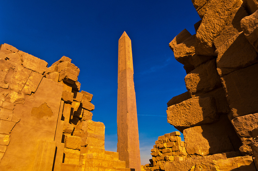 Obelisk, Karnak Temple, Luxor, Egypt