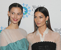 NEW YORK, NY - OCTOBER 27: Ruby Aldridge and Lily Aldridge Followill attend the World of Children Awards Ceremony at 583 Park  on October 27, 2016 in New York City. Photo by John Palmer/ MediaPunch