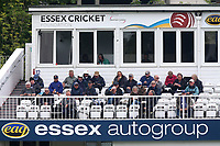 Spectators look on during Essex CCC vs Hampshire CCC, Specsavers County Championship Division 1 Cricket at The Cloudfm County Ground on 19th May 2017