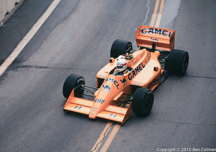 Satoro Nakajima, Detroit 1987