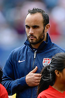 Chicago, IL - Sunday July 28, 2013:   USMNT midfielder Landon Donovan during the CONCACAF Gold Cup Finals soccer match between the USMNT and Panama, at Soldier Field in Chicago, IL.