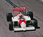 Ayrton Senna Detroit