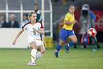 21 August 2008: Lindsay Tarpley (USA). The United States Women's National Team defeated Brazil's Women's National Team 1-0 after extra time at the Worker's Stadium in Beijing, China in the Gold Medal match in the Women's Olympic Football tournament.