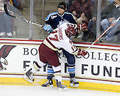 Brian Gibbons (BC - 17), Mark Nemec (Maine - 3) - The Boston College Eagles defeated the visiting University of Maine Black Bears 4-0 on Friday, November 19, 2010, at Conte Forum in Chestnut Hill, Massachusetts.