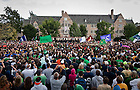 2010 Dillon Pep Rally..Photo by Matt Cashore/University of Notre Dame