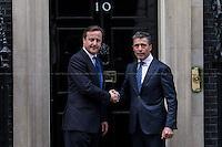 03.02.2014 - NATO Secretary General Anders Fogh Rasmussen Visits 10 Downing Street