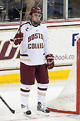 Johnny Gaudreau (BC - 13) - The Boston College Eagles defeated the visiting University of New Hampshire Wildcats 5-2 on Friday, January 11, 2013, at Kelley Rink in Conte Forum in Chestnut Hill, Massachusetts.
