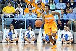 11 November 2013: Tennessee's Jordan Reynolds. The University of North Carolina Tar Heels played the University of Tennessee Lady Vols in an NCAA Division I women's basketball game at Carmichael Arena in Chapel Hill, North Carolina. Tennessee won the game 81-65.