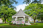 Town bandstand, Dennis, Cape Cod, Massachusetts, USA