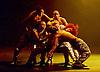 Boy Blue Entertainment <br /> Blak Whyte Gray <br /> at The Barbican Theatre, London, Great Britain <br /> press photocall / rehearsal <br /> 11th January 2016 <br /> <br /> <br /> <br /> Gray - part II <br /> Theo Godson Oloyade <br /> Natasha Gooden <br /> Dan-I Harris-Walters <br /> Nicole McDowall <br /> Idney De' Almeida <br /> Ricardo Da Silva <br /> Gemma Kay Hoddy <br /> Dickson Mbi <br /> <br /> <br /> <br /> <br /> Photograph by Elliott Franks <br /> Image licensed to Elliott Franks Photography Services