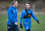 St Johnstone Training&hellip;30.12.16<br />Steven Anderson and Chris Millar pictured during training this morning ahead of tomorrow&rsquo;s game against Dundee<br />Picture by Graeme Hart.<br />Copyright Perthshire Picture Agency<br />Tel: 01738 623350  Mobile: 07990 594431