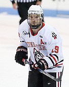 Wade MacLeod (Northeastern - 19) - The visiting Rensselaer Polytechnic Institute Engineers tied their host, the Northeastern University Huskies, 2-2 (OT) on Friday, October 15, 2010, at Matthews Arena in Boston, MA.