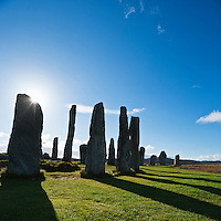 Callanish standing stones, Isle of Lewis, Outer Hebrides, Scotland
