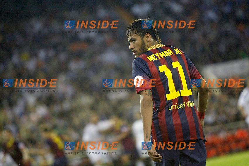 FC Barcelona's Neymar Santos Jr during spanish KIng's Cup Final match.April 16,2014. (ALTERPHOTOS/Acero) <br /> Finale Coppa del Re<br /> Real Madrid Barcellona <br /> Foto Insidefoto