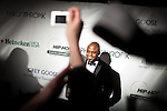 Wayne Brady poses on the red carpet outside the Hip-Hop Inaugural Ball, January 20, 2013 in Washington, DC.