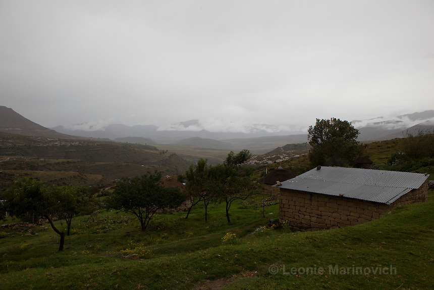 April 2011. Qacha's Nek, Lesotho.