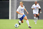 19 August 2012: Duke Freshman Cassie Pecht. The Duke University Blue Devils defeated the Elon University Phoenix 8-0 at Koskinen Stadium in Durham, North Carolina in a 2012 NCAA Division I Women's Soccer game.