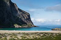 Horseid beach, Lofoten Islands, Norway