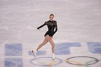 OLYMPICS: SOCHI: Iceberg Skating Palace, 20-02-2014, Figure Skating, Carolina Kostner, ©foto Martin de Jong
