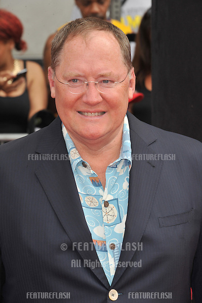 Executive producer John Lasseter at the world premiere of his movie Disney's &quot;Planes: Fire &amp; Rescue&quot; at the El Capitan Theatre, Hollywood.<br /> July 15, 2014  Los Angeles, CA<br /> Picture: Paul Smith / Featureflash