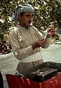 Iraq 1968 <br /> A Kurdish male nurse of a dispensary in the mountains  <br /> Irak 1968 <br /> Un infirmier kurde dans un dispensaire mis en place par les peshmergas