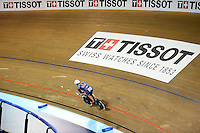 Picture by Simon Wilkinson/SWpix.com - 03/03/2017 - Cycling 2017 UCI Para-Cycling Track World Championships, Velosports Centre, Los Angeles USA - Tissot branding