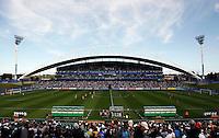 General View..FIFA U17 Women's World Cup Final, USA v Korea DPR, Albany Stadium, Auckland, New Zealand, Sunday 16 November 2008. Photo: Renee McKay/PHOTOSPORT