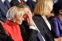 Roma, 28 Aprile  2013.Il governo Letta giura al Quirinale. Emma Bonino Ministro degli Esteri, Giampiero D'Alia Ministro Pubblica Amministrazione